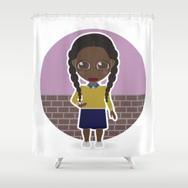 Chewing Gum Shower Curtain