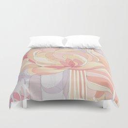 Floral Drip Duvet Cover