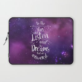 ACOMAF- To the Stars Who Listen And the Dreams that are Answered Laptop Sleeve