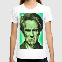 clint eastwood T-shirts featuring Clint Eastwood by Jason Hughes