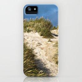 Scandinavian Sand Dune of Henne in Denmark iPhone Case