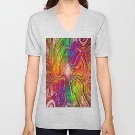 color Unisex V-Neck