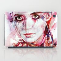grimes iPad Cases featuring grimes by beart24
