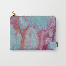 Pink lagoon Carry-All Pouch