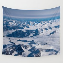 Aerial Glacier Four - Alaska Wall Tapestry