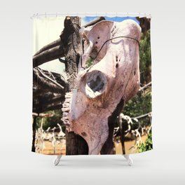 Cow Skull Ranch Shower Curtain