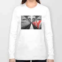 subway Long Sleeve T-shirts featuring LA subway by Vin Zzep