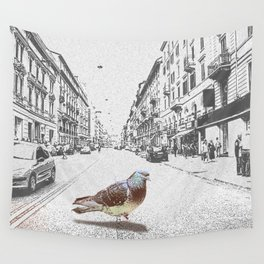 Dove in Italy Wall Tapestry