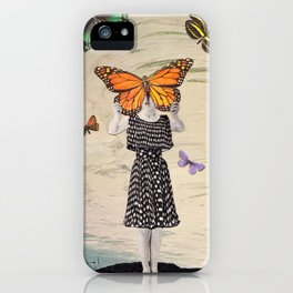 The butterflirst iPhone Case