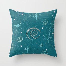 Spirals Throw Pillow
