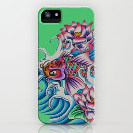 Dancing Koi iPhone Case