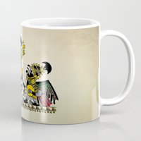 peru Mugs featuring Ancient Peru - Sipan by Franco Olivera