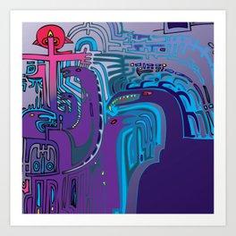 NAMELESS ONE Art Print