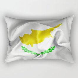 Cyprus Flag Rectangular Pillow