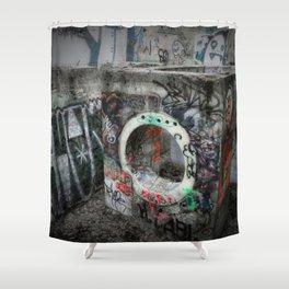 Graffiti - the Boiler Shower Curtain