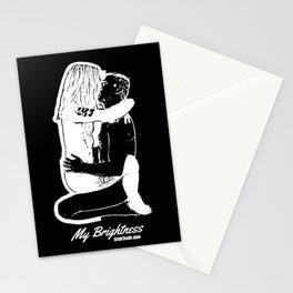 My Brightness (Black & White) Titled Design Stationery Cards