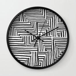 Optical Illusion Sketch Wall Clock