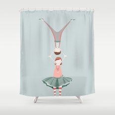 Rita and Clyde Shower Curtain