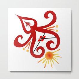 Fire Sprite Metal Print