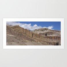 Himalayan High Desert Art Print