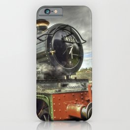 Steam Locomotive 4936 Kinlet Hall iPhone Case
