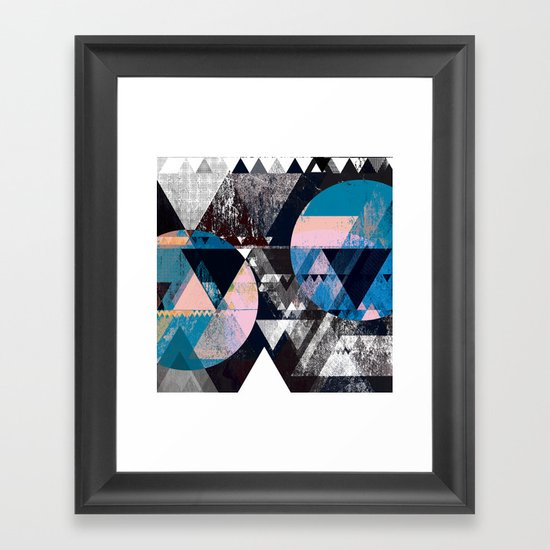 Graphic 4 Z Framed Art Print
