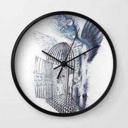 Malady of revery Wall Clock