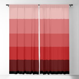 Western Sunset - Color Strips - Colors of Travel Blackout Curtain