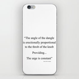 The Angle iPhone Skin