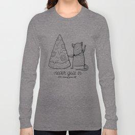 Pizza Rat Long Sleeve T-shirt