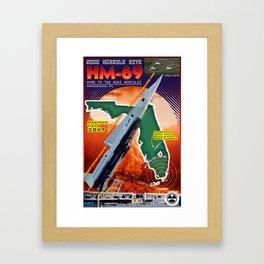 HM-69 Missile Site Framed Art Print