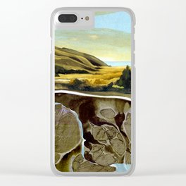 Down To The Sea Clear iPhone Case