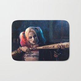 Harley Quinn - The Clown Princess Of Gotham With Her Goodnight Bat Bath Mat