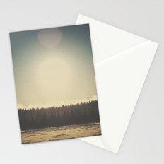 Frozen Reflection Stationery Cards