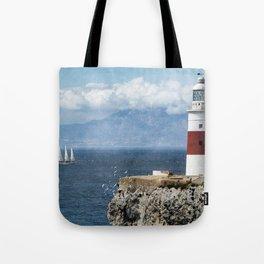 Trinity Lighthouse, Gibraltar Tote Bag