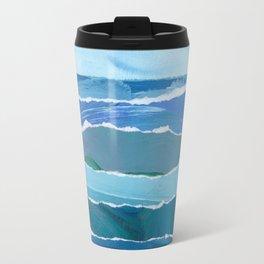 Water Waves Travel Mug