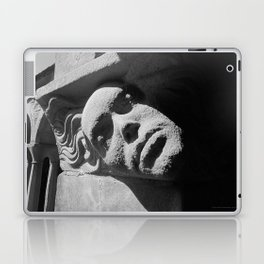 Face from Iona Abbey Laptop & iPad Skin