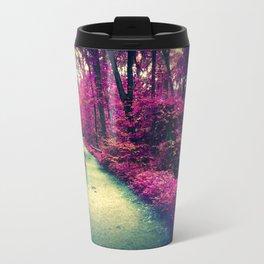 Mystical Path in Forest Park, Forest, Woodlands Travel Mug