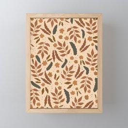 June Pattern Framed Mini Art Print