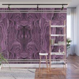 Framed  magenta marble Wall Mural