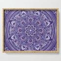 Great Purple Mandala by angeldecuir