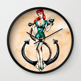 Hats off! Wall Clock