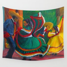 Baile Folklorico Wall Tapestry