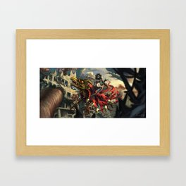 Witches' Parade Framed Art Print