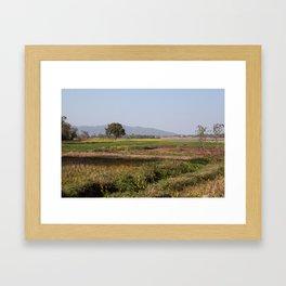Jharkhand Farms Framed Art Print
