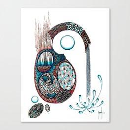 Gestazione Canvas Print