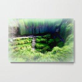 Umpherston Sinkhole #1 Metal Print