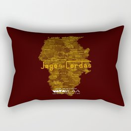 "Vaca - MP: ""Jogo das Cordas"". Rectangular Pillow"