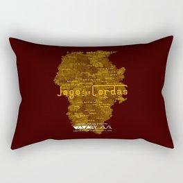 """Vaca - MP: """"Jogo das Cordas"""". Rectangular Pillow"""