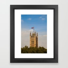 Victoria Tower Framed Art Print